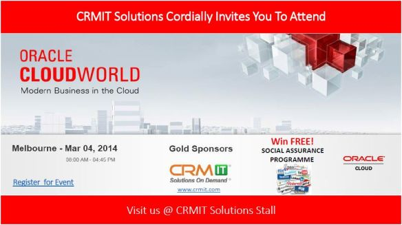 CRMIT Solutions at Oracle Cloud World