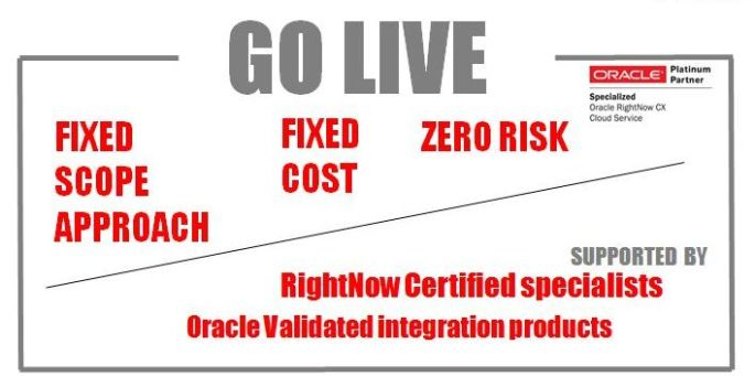 Go Live in Less Than 5 Weeks with teh support of Certified Oracle Consultants