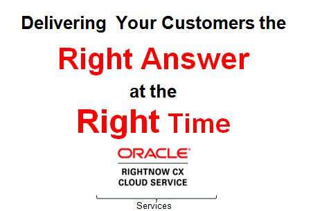 Oracle RightNow CX Cloud Service
