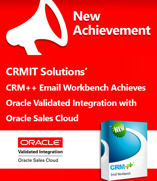 Oracle Validated Integration with Oracle Sales Cloud for Email Workbench